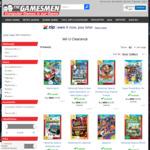 [Wii U] Games Clearance - Super Mario Bros U + Super Luigi U $24.95, Devil's Third $18, Pikmin 3 $22 + Delivery @ The Gamesmen