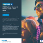 Free Night or Weekend Parking with Secure-a-Spot @ Secure Parking