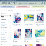 20% off on All Framed Prints @ Home Shoppe
