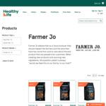 Save $5 off Entire Farmer Jo Granola & Muesli Range @ Healthy Life