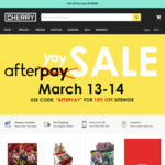 10% off Site Wide at Cherry Collectables