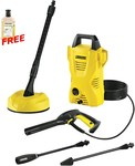 Karcher K2 Home Plus 1.4kW 1600PSI High Pressure Cleaner $139 (RRP $199) @ Tools Warehouse