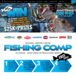 Win A Fishing Trip For 2 To Clearwater Island Lodge + 17 Other Monthly Fishing Prizes @ Mark Berg's Addict Tackle