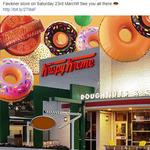 [VIC] Free Doughnuts, Saturday (23/3) @ Krispy Kreme (Fawkner)