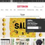 20% off Full Price TYPO @ Cotton on