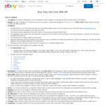 Buy Two Items, Get Third Item 20% off ($100 Min Spend, $200 Max Discount) @ eBay Au
