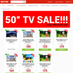 """50"""" LED LCD TV Price Reduction from $329 Includes Smart, Google Chromecast in-Built, Freeview and Refurbished @ SONIQ"""