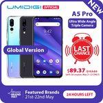 UMIDIGI A5 Pro Global Version 4GB/32GB US $104.91 (AU $152.33) Delivered @ AliExpress
