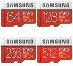 [eBay Plus] Samsung EVO Plus Micro SD Card - 256GB $50.15, 512GB $123.25 Delivered @ PC Byte eBay