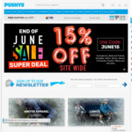 15% off Site Wide @ Pushys (Some Exclusions)
