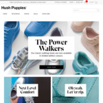$30 off No Minimum Spend at Hush Puppies ($9.95 Shipping for Order under $99)