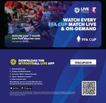 Free 3 Month 'MyFootball Live App' Live Pass (Worth $50.97) @ Telstra via Twitter