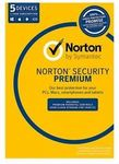 Symantec Norton Internet Security Premium Antivirus 5 Users 1 Year PC MAC 2018 $26.40+Del [Free w/eBayPlus] @ Futu Online eBay