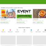 Up to 20% off Food and Drink Using The Groupon App