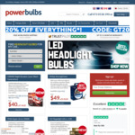 25% off Sitewide @ PowerBulbs