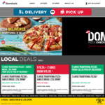 3 Premium/Traditional Pizzas $20 (Pick up) @ Domino's