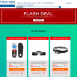 LED Head Torch (Expired), Clip On Polarised Sunglasses, Large Inner Sole Shoe Pads $0.01 US (~$0.01 AU) ea Shipped @ Chinavasion