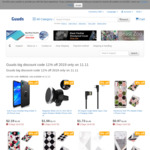 11% off Storewide (Mobile Phone Cases and Accessories) @ Guuds