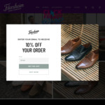 25% off Everything (Free Shipping with Min $100 Order) @ Florsheim Shoes