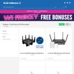 Asus GT-AC5300 ROG Rapture Router + Bonus Asus Clique H10 $490 & D-Link DSL-3890 + Bonus DHP-W313AV $199 @ Wireless1