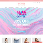 Click Frenzy - 30% off Everything (Online & in-Store) @ Soon Maternity
