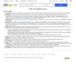 15% off Eligible Tech Items (No Min Spend, Max Discount $500) @ eBay