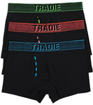 TRADIE 3pk Fly Front Men's Trunks $11.95 (+ $10 Delivery) @ Harris Scarfe