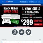 Black Friday Sale @ EB Games (Starts 10pm)