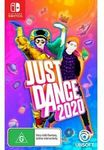 [Switch] Just Dance 2020 $47 or $39.95 (with eBay Plus) + C&C @ EB Games eBay