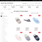 Various Easy Steps Women's Slippers $9 (Some Were $44.95) @ David Jones