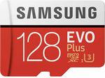 Samsung Evo Plus 128GB Micro SD Card $17.80 + Delivery ($0 eBay Plus) @ FFT eBay