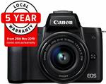 Canon EOS M50 Single Digital Camera Kit with EF-M 15-45mm $593.30 Delivered @ Amazon AU