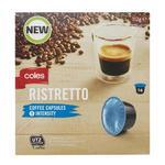 Dolce Gusto Coles Brand Cappuccino, Americano, Ristretto $3.50 @ Coles (Selected Stores)