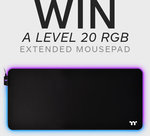Win a Level 20 RGB Extended Mouse Pad Worth $79 from Thermaltake ANZ