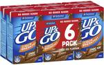 ½ Price Up & Go 6 Pack $4.62, V Energy Drink 4 Pack $4.92, Gatorade 600ml $1.77 @ Woolworths