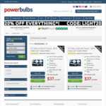 GT Ultra 120 Car Headlight Bulbs H4 or H7 Fittings BOGOF: 2 Pairs for $29.92 Delivered @ Power Bulbs