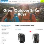 Great Outdoor Smartbuys Up to 50% Off Selected Hiking & Camping Gear | Free Shipping above $80 | Store Pickup @ Decathlon