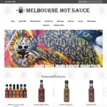 Free Shipping, No Minimum Spend @ Melbourne Hot Sauce