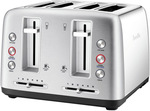 Breville The Toast Control 4 Slice Toaster Stainless Steel LTA670BSS $89 @ Amazon AU and Myer (Inc. Myer eBay Store)