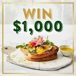 Win 1 of 4 $1,000 VISA Gift Cards from Helga's