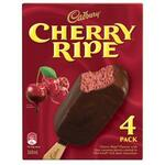 Cadbury Cherry Ripe Ice Cream 4 Pack $4.25 (Was $8.50) @ Coles