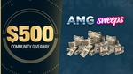 Win $500 from Sweeps and AMG
