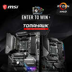 Win 1 of 5 MSI X570/B550 Motherboards Worth $399/ $309 or 1 of 50 Steam Wallet Codes from MSI