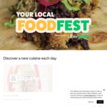 50% off Participating Mexican and Latin American Restaurants - Local Food Fest ($20 Max Discount) @ Uber Eats