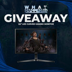 """Win a Samsung 24"""" LED Curved Gaming Monitor from What Happened"""