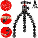 Joby Tripod GorillaPod 3K PRO Kit $109.64, 5K PRO Kit $137.47 + Delivery ($0 with Prime) @ Amazon UK via AU