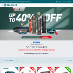 Warrior Mini Torch Black/DT/Camo $76.97 / $86.77, Perun Mini DT $74.87, I3t Red $23.96 + Free Shipping over $75 + Gifts @ Olight