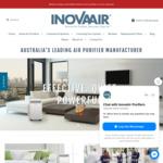 InovaAir Air Purifiers and Filters 10% off @ InovaAirpurifiers.com.au