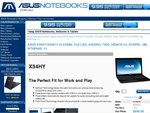 ASUS X54HY-SX091V Notebook, $589 with a Free Neoprene Slip Case - Cheapest Price on Staticice