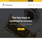 [eCourse] Beekeeping Course: 1 Month Free Trial $0 (Then $27/Month) or $40 off Annual Sub $229 (Was $269) @ The Beekeeper